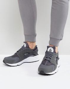 Серые кроссовки для бега Nike Air Huarache Run 318429-037 - Серый