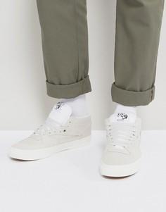 Белые кроссовки Vans Half Cab VA348EOIG - Белый