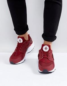 Красные кроссовки Nike Air Huarache Run 318429-606 - Красный