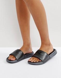 Черные шлепанцы Nike Benassi - Черный