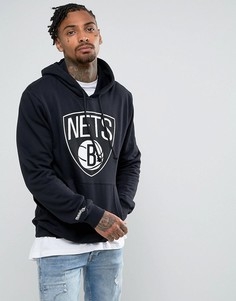 Худи Mitchell & Ness NBA Brooklyn Nets - Черный