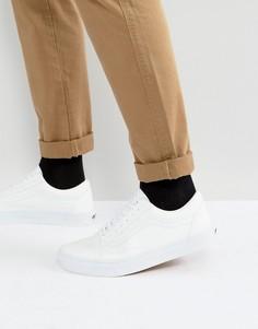 Белые кожаные кроссовки Vans Old Skool VA38G1ODJ - Белый