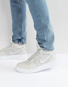Серые кроссовки средней высоты Nike Ultraforce 1 864014-003 - Серый