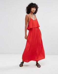 Платье макси d.RA Brigette - Красный