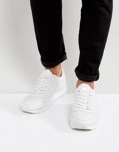 Белые лакированные кроссовки ASOS - Белый