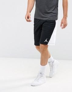 Черные шорты Nike Jordan Flight 861496-014 - Белый