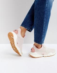 Розовые премиум-кроссовки Nike Sock Dart - Розовый
