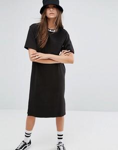 Платье-футболка Stussy - Черный