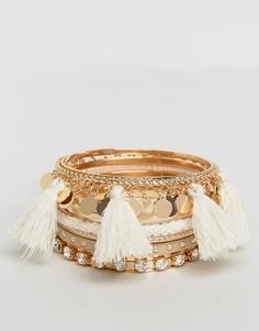 Набор браслетов с кисточками ALDO - Золотой