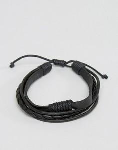 Черный браслет Jack & Jones Jack Josh - Черный