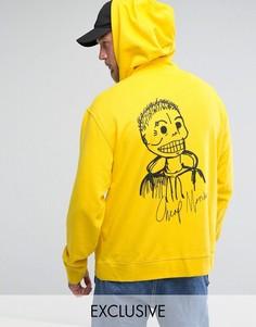 Худи-пуловер Cheap Monday - Желтый