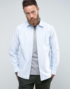 Синяя оксфордская рубашка Edwin - Синий
