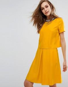 Платье Boss Orange By Hugo Boss Aberry - Желтый