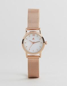 Часы с сетчатым ремешком цвета розового золота ASOS CURVE - Медный