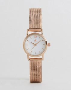 Часы с сетчатым ремешком ASOS - Медный