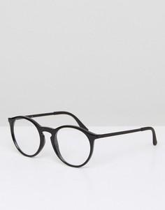 Круглые очки Ray-Ban 0RX7132 - Черный