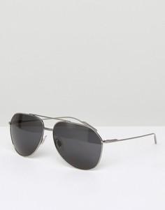 Солнцезащитные очки-авиаторы Dolce & Gabbana - Серебряный