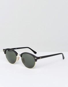 Круглые солнцезащитные очки Ray-Ban Club 0RB4246 - Черный