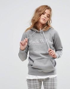 Худи удлиненного кроя Jack Wills Borrowfield - Серый