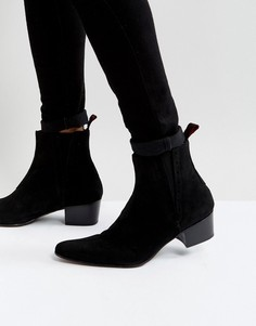 Черные замшевые ботинки челси Jeffery West Murphy - Черный