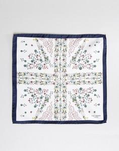 Платок для нагрудного кармана с цветочным принтом Ted Baker - Белый