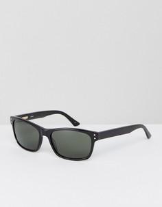 Солнцезащитные очки в квадратной черной оправе Levis - Черный Levis®