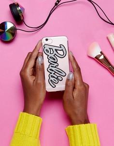 Чехол для Iphone 7 с блестками Missguided Barbie - Мульти