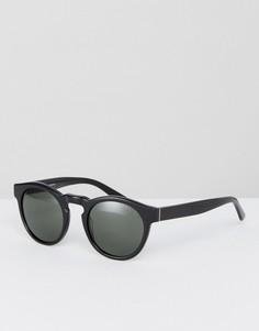 Черные круглые солнцезащитные очки Levis - Черный Levis®