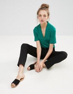 Блузка b.Young - Зеленый