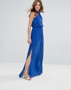Платье макси Lavand - Синий