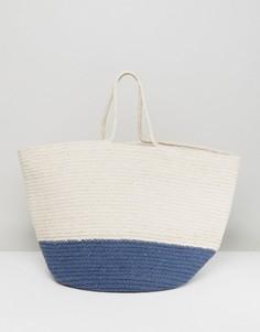 Большая пляжная сумка Liquorish - Мульти