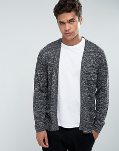 Кардиган без застежек Jack & Jones Originals - Черный