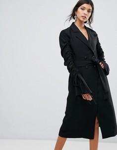 Платье-тренч C/Meo Collective - Черный