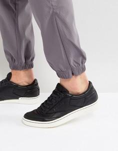 Черные кроссовки Reebok Club C 85 NP BS6208 - Черный