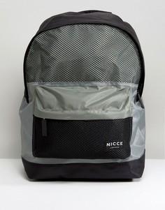 Черный рюкзак с сетчатыми вставками Nicce London - Черный