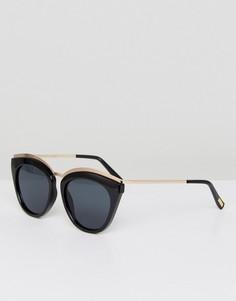Черные солнцезащитные очки Le Specs - Черный