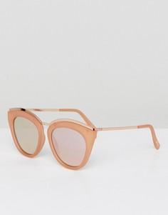 Розовые солнцезащитные очки Le Specs - Розовый