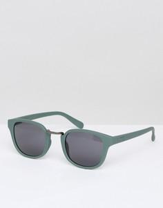 Зеленые солнцезащитные очки Vans Carvey VA31JD1CI - Зеленый