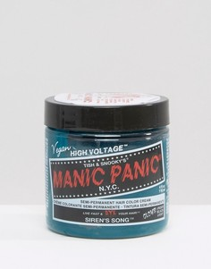 Крем-краска для волос временного действия Manic Panic NYC Classic - Sirens Song - Зеленый