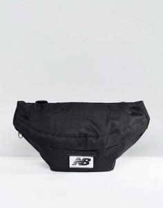 Черная сумка-кошелек на пояс New Balance NB500190-001 - Черный