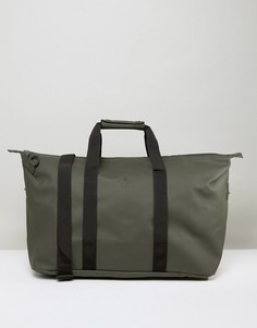 Дорожная сумка цвета хаки Rains - Зеленый