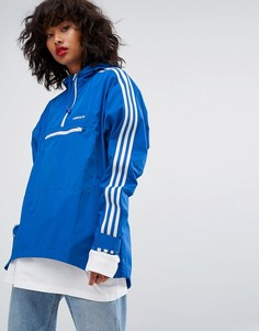 Худи синего цвета adidas Originals Tennoji - Синий