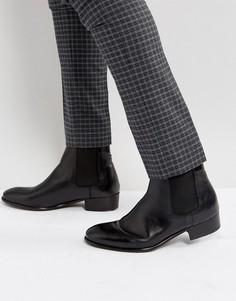 Кожаные ботинки челси Hudson London Watts - Черный