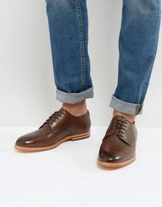Кожаные туфли дерби Hudson London Hadstone - Коричневый