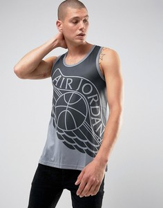 Серая майка Nike Jordan 842312-021 - Серый