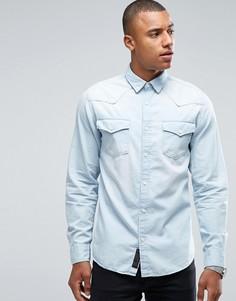 Джинсовая рубашка Produkt - Синий