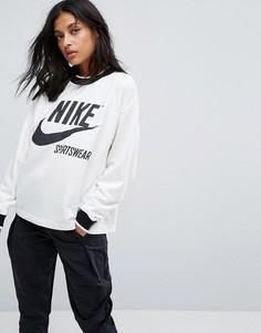 Свитшот кремового цвета Nike Archive - Кремовый