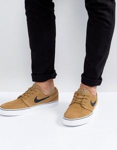 Светло-коричневые кроссовки Nike SB Stefan Janoski 333824-215 - Рыжий
