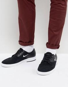 Черные кроссовки Nike SB Zoom P-Rod X 918304-011 - Черный