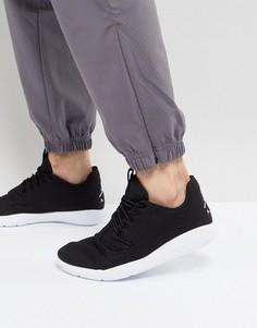 Черные кроссовки Nike Jordan Eclipse 724010-017 - Черный